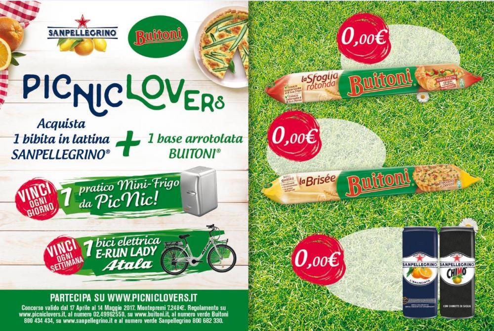 Pic Nic Lovers con Buitoni e San Pellegrino