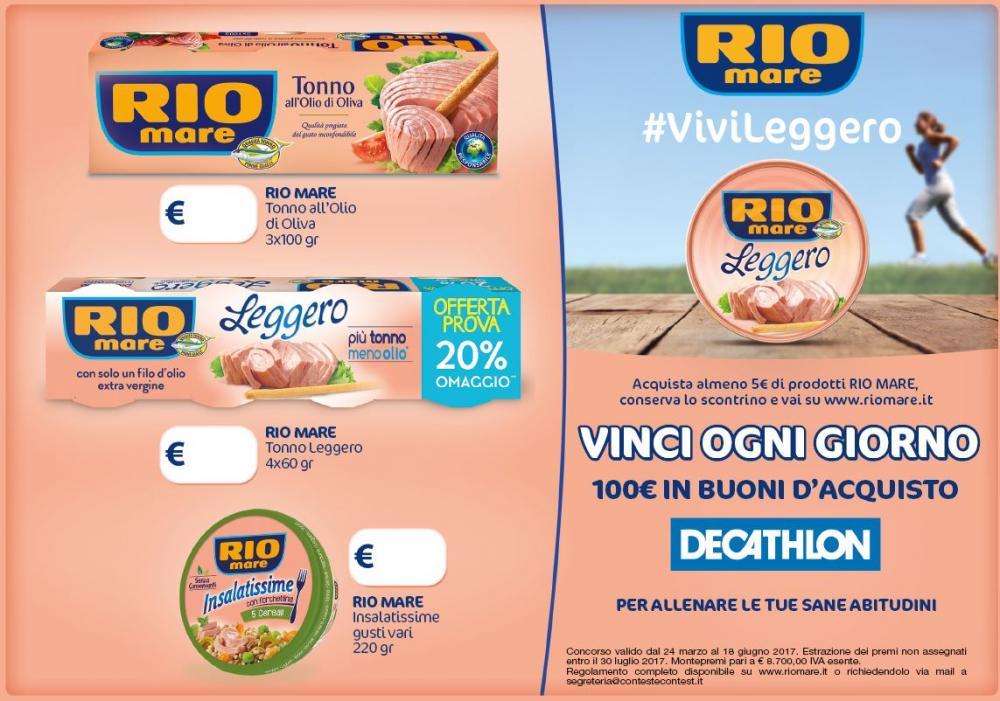Con Riomare #vivileggero