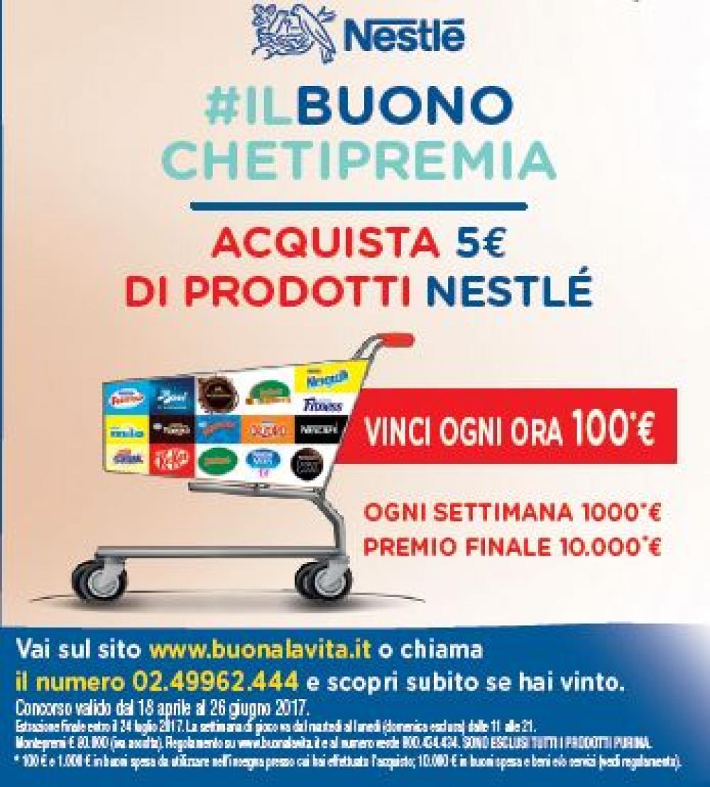 Con Nestlè #ilbuonochetipremia