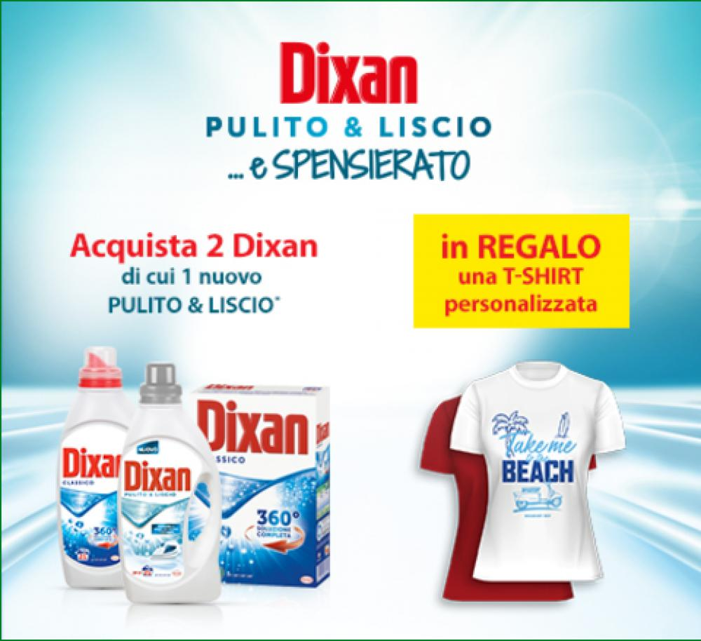 DIXAN Pulito&Liscio e Spensierato