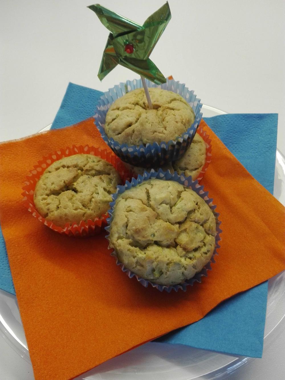 Prepariamo i Muffin con zucchine e pate' Saper di Sapori